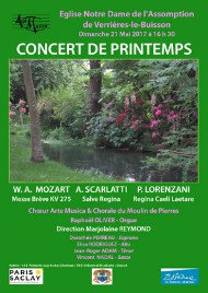 AM - Affiche Concert Printemps - Mai 17 - 190x268
