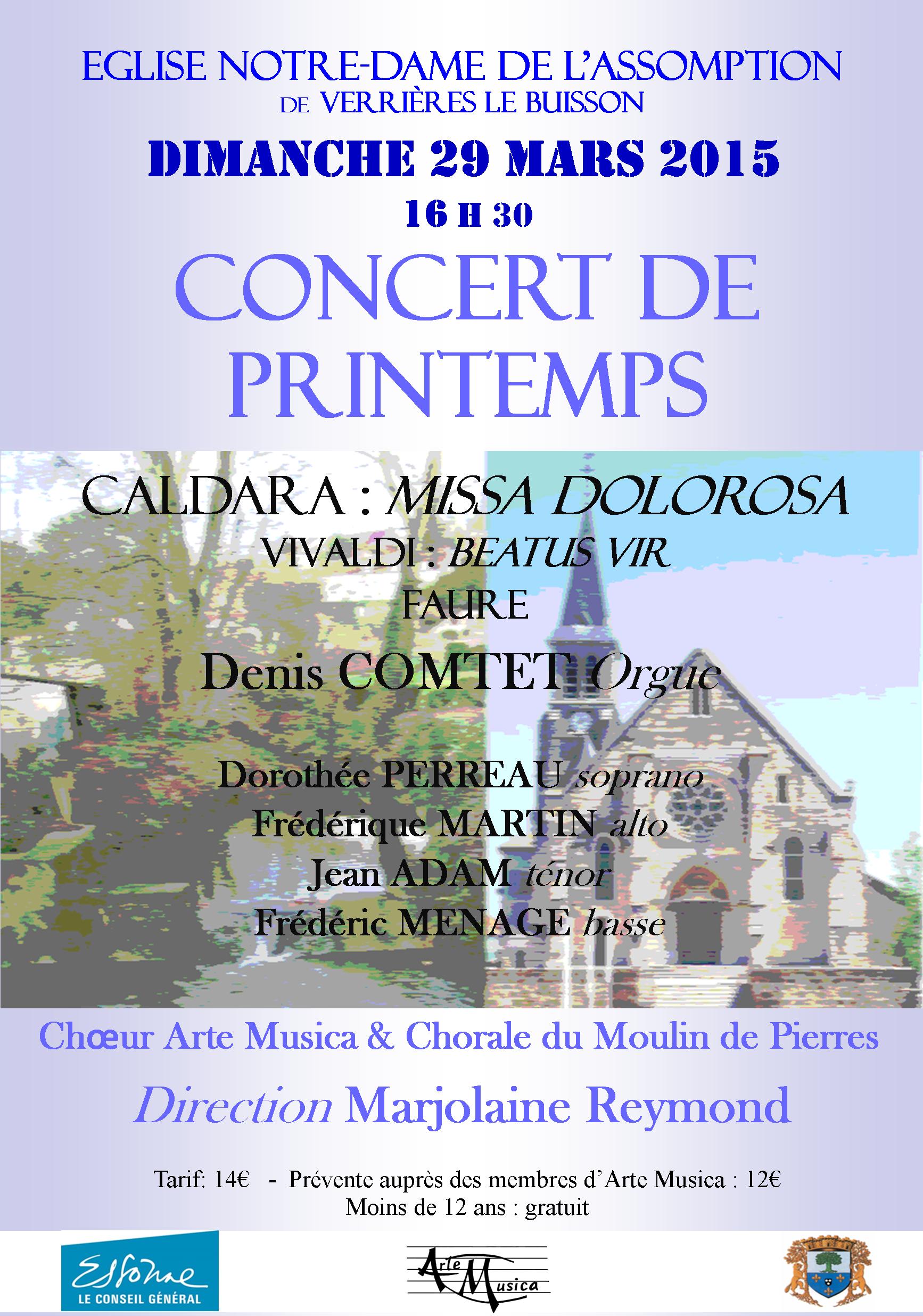 Concert Mars 2015
