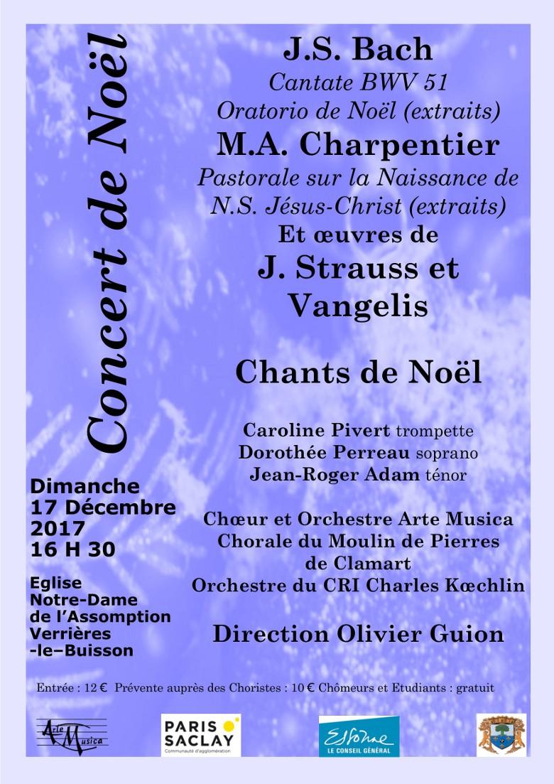 Concert Noël 2017