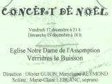 Concert de Noël 2004