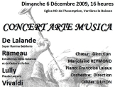 Concert Noël 2009