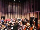 Auditorium, choeur et orchestres