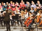 Salle Colombier, chorale et orchestres Arte musica et du Conservatoire Charles Koechlin