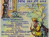 Spectacle événement en costumes du XVIIème Siècle
