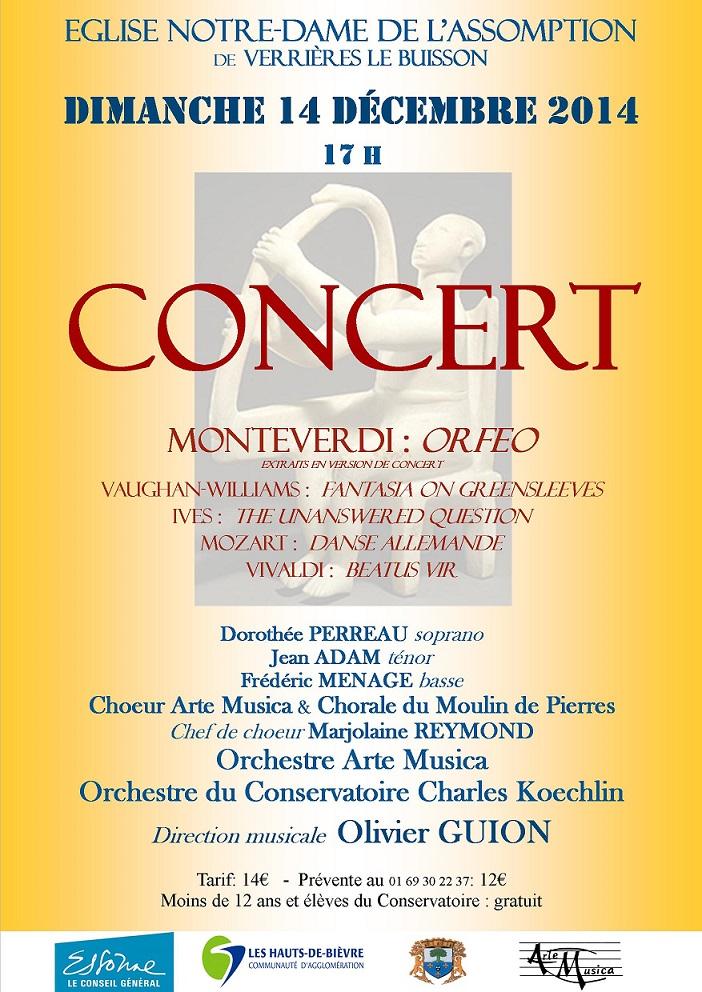 Concert Arte Musica et Conservatoire Charles Koechlin