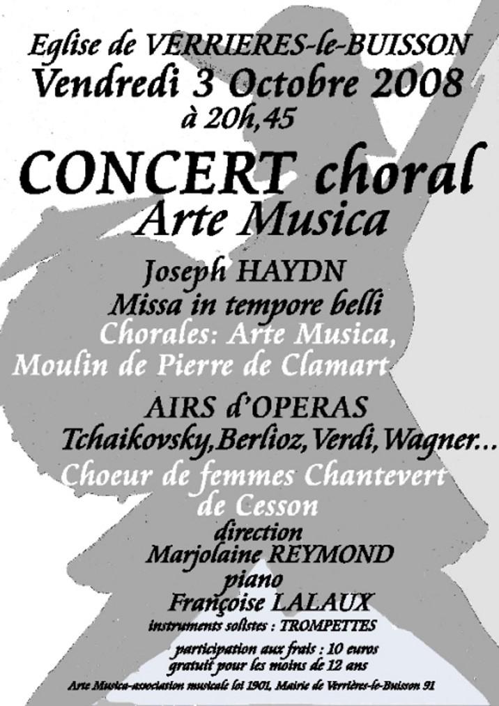 Concert Octobre 2008