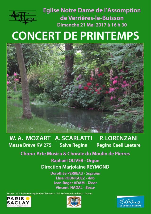 Concert Printemps - Mai 2017