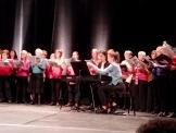 """Salle Colombier, la chorale chante """"Wonderful Town"""""""